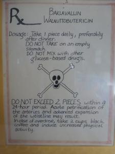 A Baklava Safety Warning